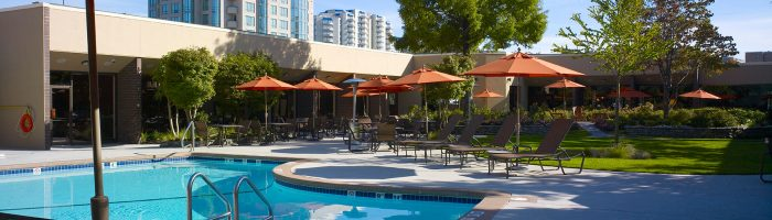 pool and patio amenities